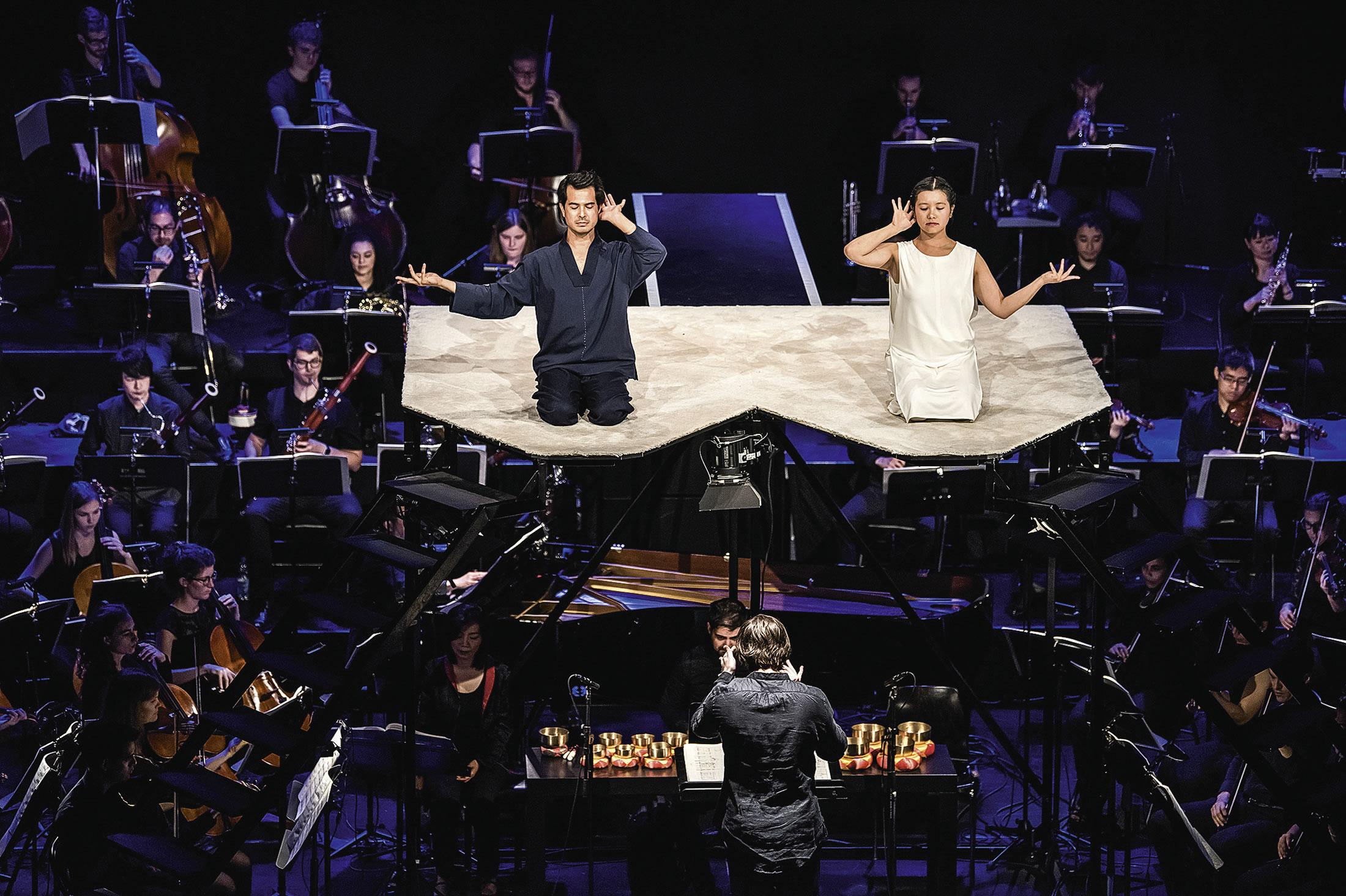 Bericht von einer unakademischen Akademie – INORI – Wiederaufnahme im 90. Geburtsjahr von Karlheinz Stockhausen beim Lucerne Festival